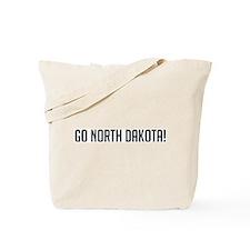 Go North Dakota! Tote Bag