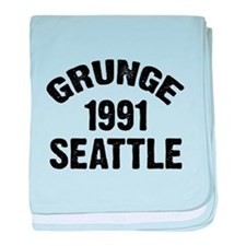 SEATTLE 1991 GRUNGE baby blanket