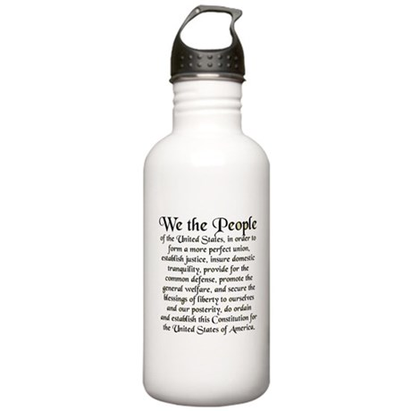 We the People US Stainless Water Bottle 1.0L