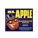Mr. Apple - Postcards (Package of 8)