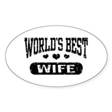 World's Best Wife Decal