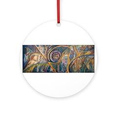 Tierra Iconos Ornament (Round)