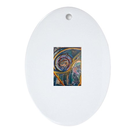 Tierra Iconos Ornament (Oval)