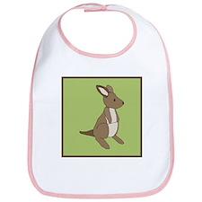 kangaroo (green) Bib
