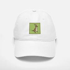 kangaroo (green) Baseball Baseball Cap