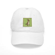 kangaroo (green) Baseball Cap