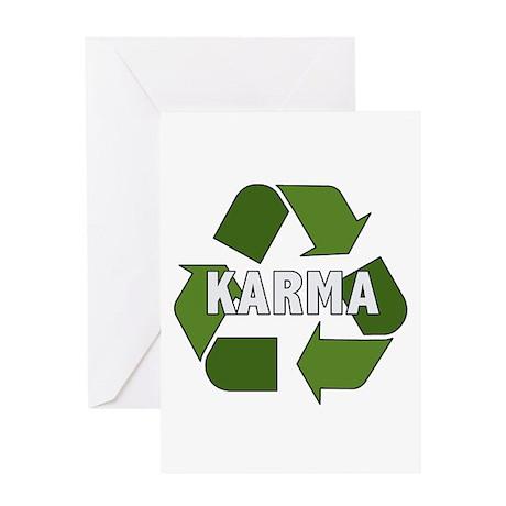 Recycle Karma Greeting Card