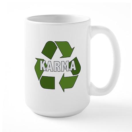 Recycle Karma Large Mug