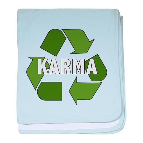 Recycle Karma baby blanket