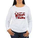 Santas Jingle Bells Women's Long Sleeve T-Shirt