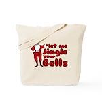 Santas Jingle Bells Tote Bag