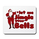 Santas Jingle Bells Mousepad