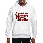 Santas Jingle Bells Hooded Sweatshirt