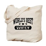 World's Best Wifey Tote Bag