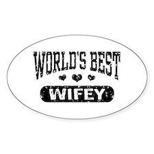 World's Best Wifey Decal