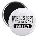 World's Best Wifey Magnet