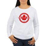 Canada Day Women's Long Sleeve T-Shirt