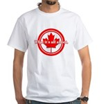 Canada Day White T-Shirt