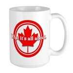 Canada Day Large Mug