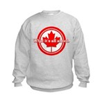 Canada Day Kids Sweatshirt