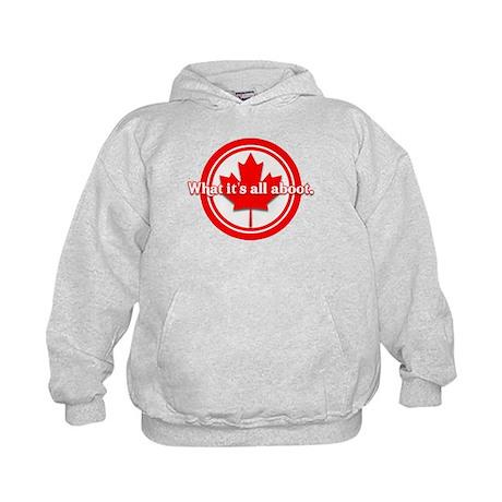Canada Day Kids Hoodie