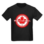 Canada Day Kids Dark T-Shirt