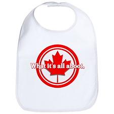 Canada Day Bib