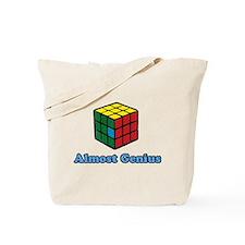 Almost Genius Tote Bag