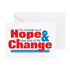 Hope & Change Greeting Card