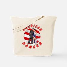 American Dancer Tote Bag