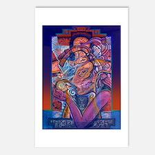 Offering to Quetzalcoatl Postcards (Package of 8)
