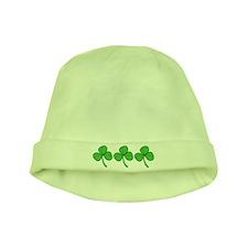 Shamrock baby hat