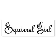 Squirrel Girl Sticker (Bumper sticker)