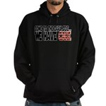 Dark Side of Cake Hoodie (dark)