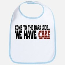 Dark Side of Cake Bib