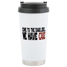 Dark Side of Cake Travel Mug