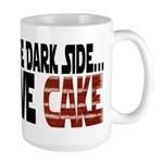 Dark Side of Cake Large Mug