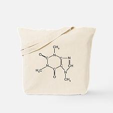 Caffeine Chemistry Tote Bag