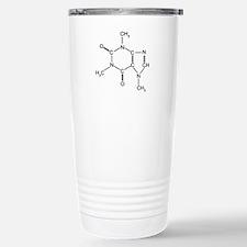 Caffeine Chemistry Stainless Steel Travel Mug
