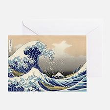 Katsushika Hokusai Greeting Card