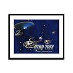 Custom Star Trek Framed Panel Print