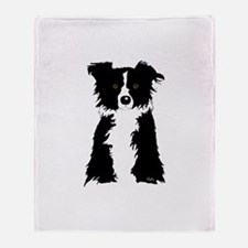 Cute Black sheep Throw Blanket