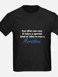Idiot to run marathon T