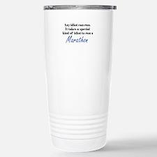 Idiot to run marathon Travel Mug