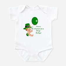 St Patrick's Baby Birthday Infant Creeper