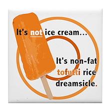 Tofutti Rice Dreamsicle Tile Coaster