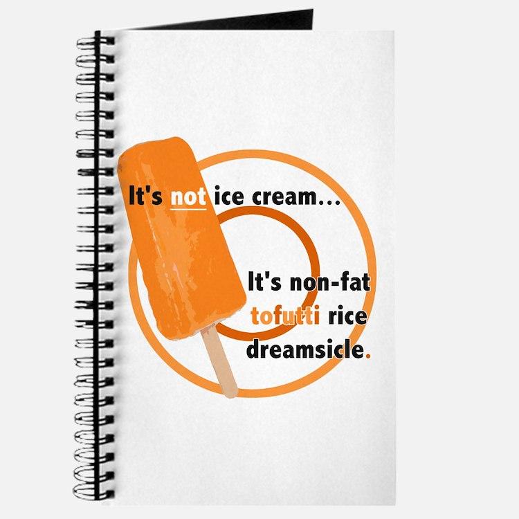 Tofutti Rice Dreamsicle Journal