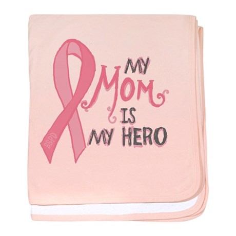 Mom Hero baby blanket