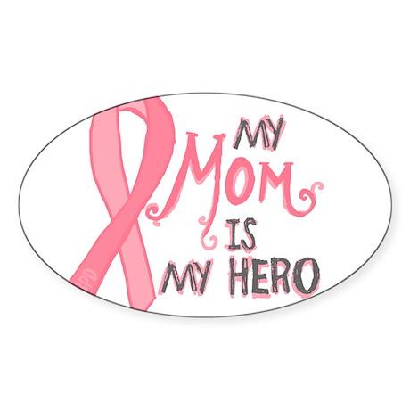 Mom Hero Sticker (Oval)