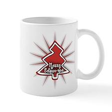 Merry Eclipse-mas Red Mug